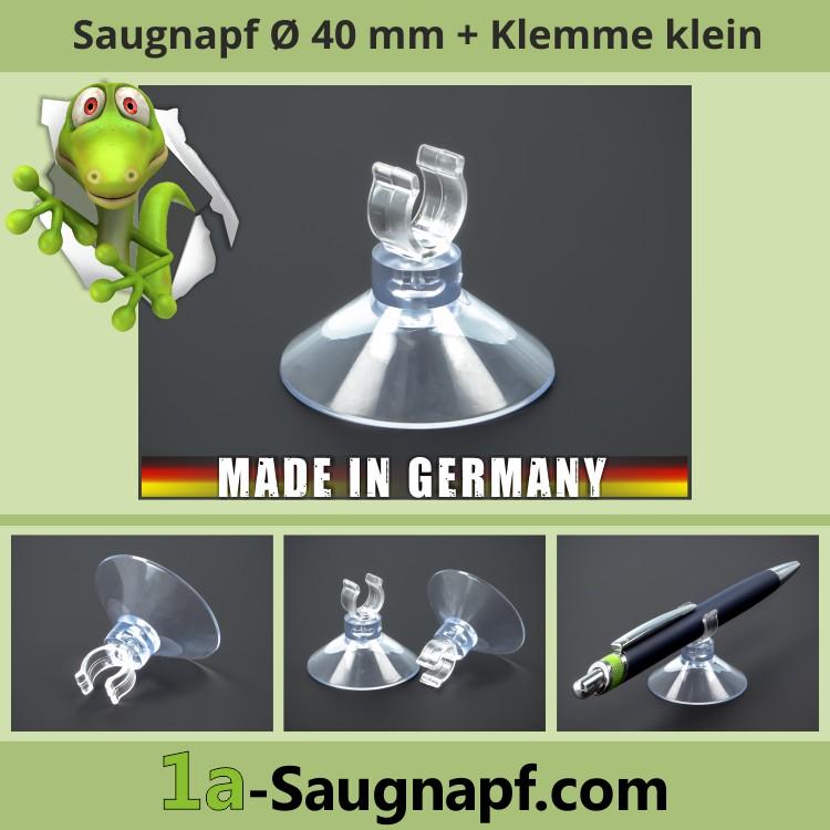 Saugnapf 40 mm kleine Klemme Clip Aquarium Lichterketten Schläuche