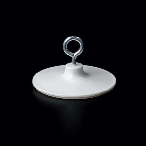 Deckenöse selbstklebend 39mm | Plastik+Metall Öse Aufhängung bis 0,4kg