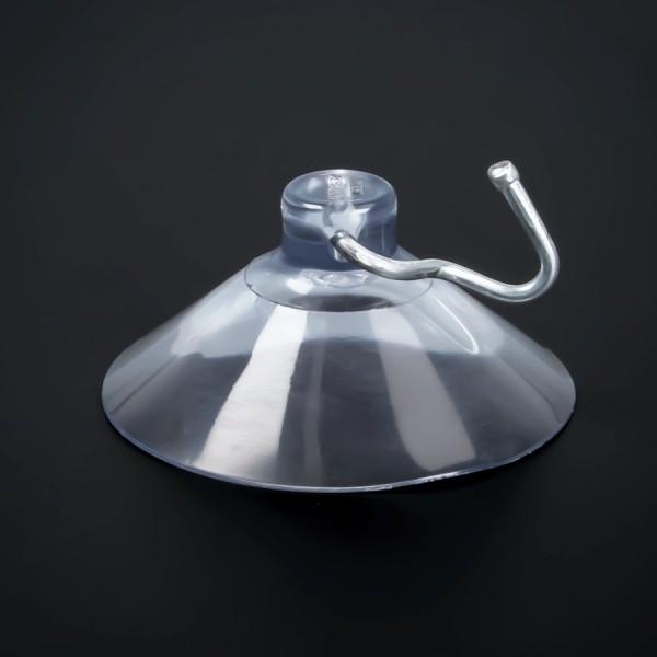 Saugnäpfe 50 mm mit beweglichem Metallhaken | Saugnapf | Saugnapfhaken