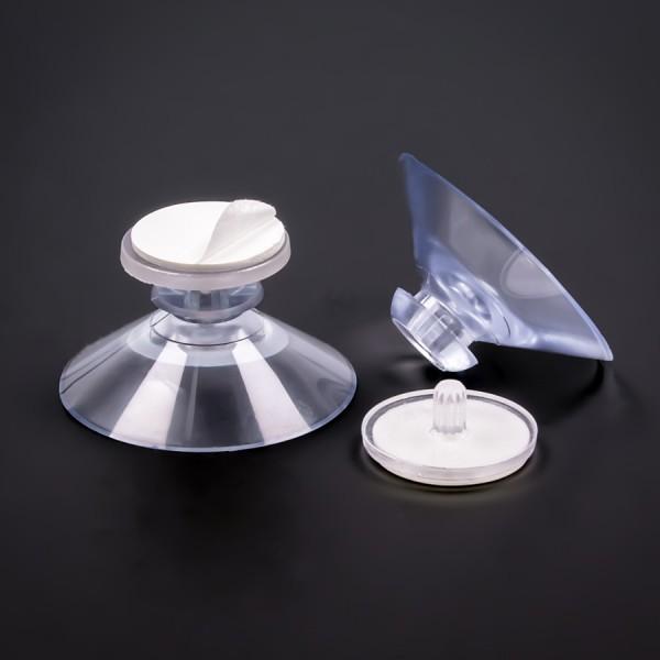 Gummisauger 40 mm mit selbstklebender Fläche | Sauger | Saugnäpfe