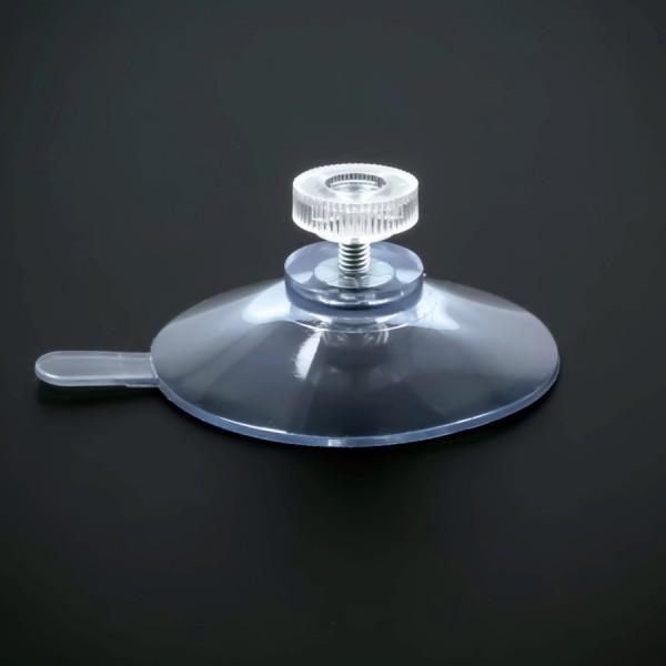 Saugnäpfe 50mm mit Lasche + Gewinde M4x6mm + Mutter klar | Saugnapf