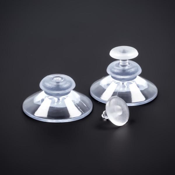 Saugnapf 30 mm mit Knopf und Dorn | Saugnäpfe | Sauger | Kopf