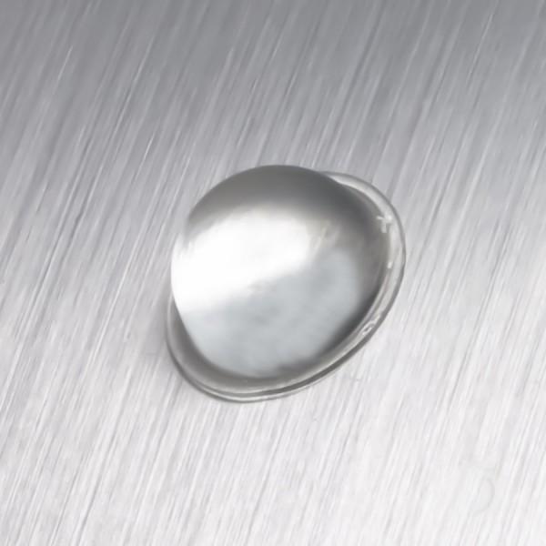Gummi-Wand-Tür-Puffer Ø 19 mm WA 9,5mm | selbstklebend | Schutz | klar