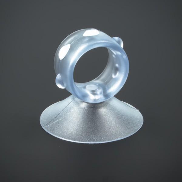 Saugnapf 50 mm Loch Ring Kragen für Vasen Reagenzgläser Deko Saugnäpfe