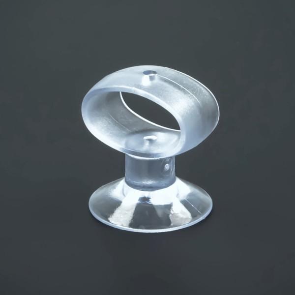 Saugnäpfe 30 mm elliptische Schlaufe Öse für Rasierer | Montagehilfe